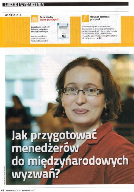 Monika Chutnik w Personel Plus