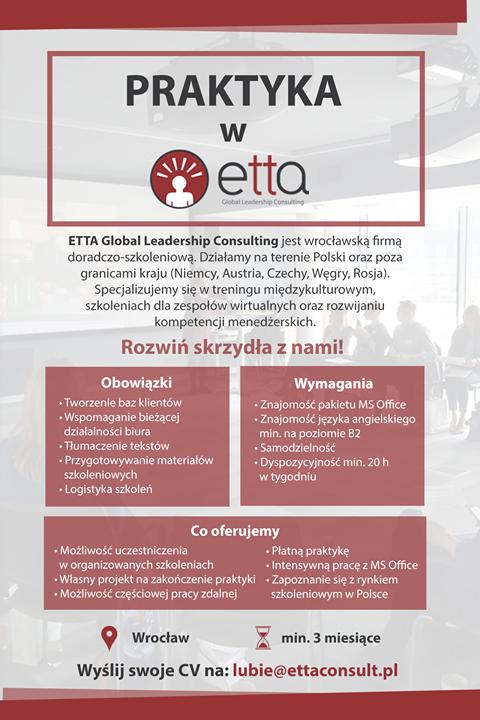 praktyki szkolenia Wrocław