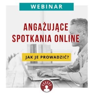 webinar angazujace spotkania online Katarzyna Romanowicz