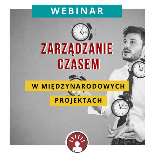 webinar etta zarzadzanie czasem w miedzynarodowych projektach Monika Guzek